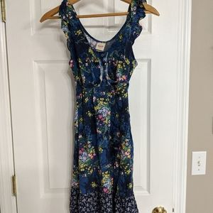 Blue floral Mossimo Dress